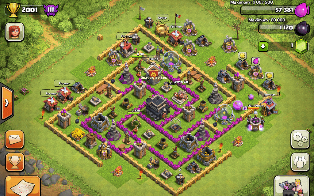Comment construire village clash of clans : comment construire un village dans le jeu clash of clans ?